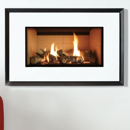 Riva2 670 Evoke Glass Balanced Flue