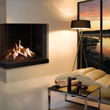 A wide range of gas and electric Fires and Fireplaces available