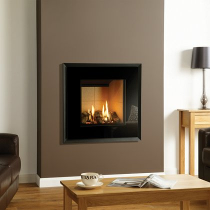 Riva2 530 Evoke Glass Balanced Flue