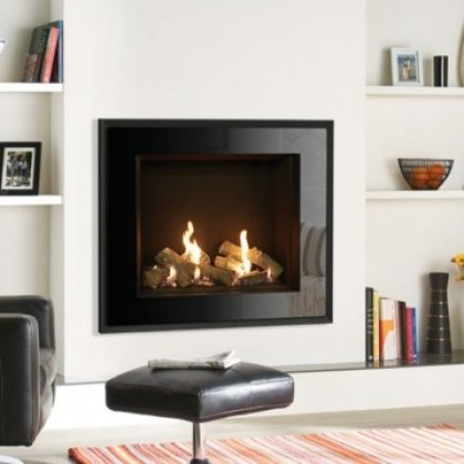 Riva2 750HL Evoke Glass Balanced Flue