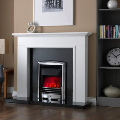 Petrus Slimline Electric Fire Dimension