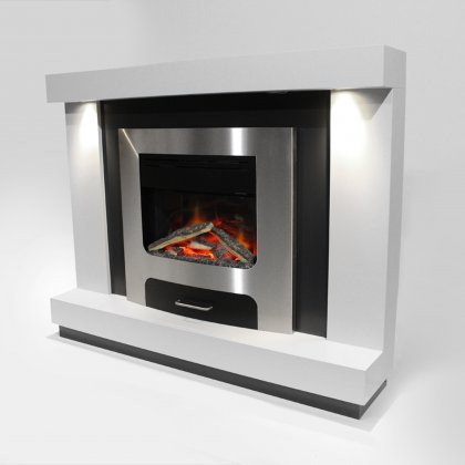 XP20 Electric Fireplace Suite